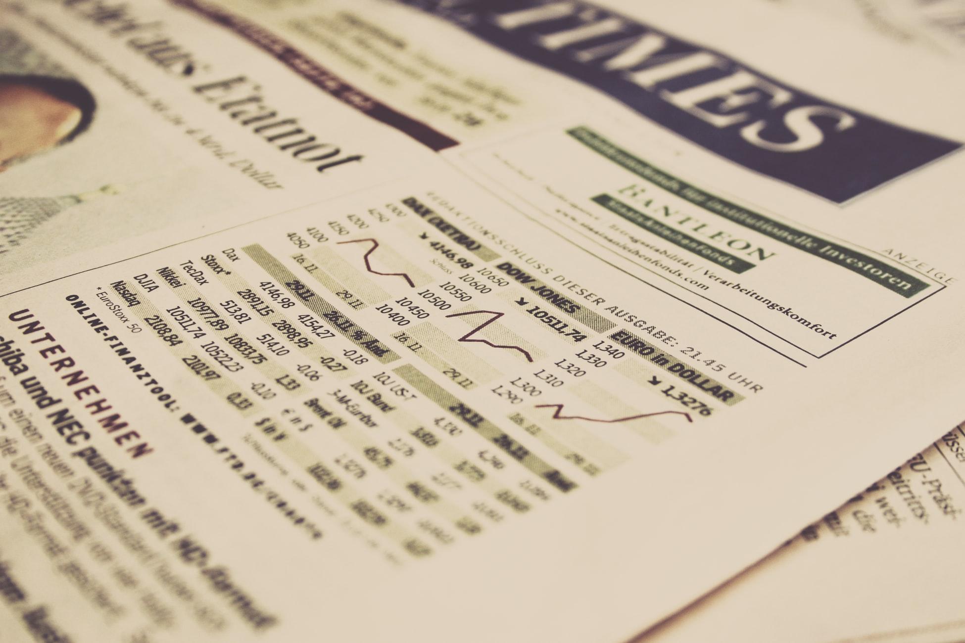 Börsennachrichten der New York Times